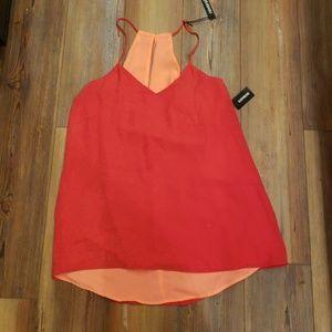 Express halter blouse.  Never been worn
